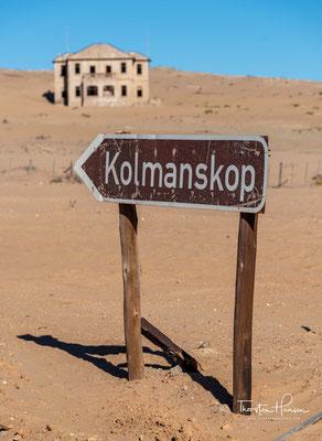 Die Städte wie Kolmannskuppe wurden aufgegeben und wurden zu Geisterstädten, die sich die Wüste langsam wieder zurückholt.