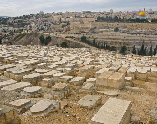 Jüdischer Friedhof am südlichen Ölberg