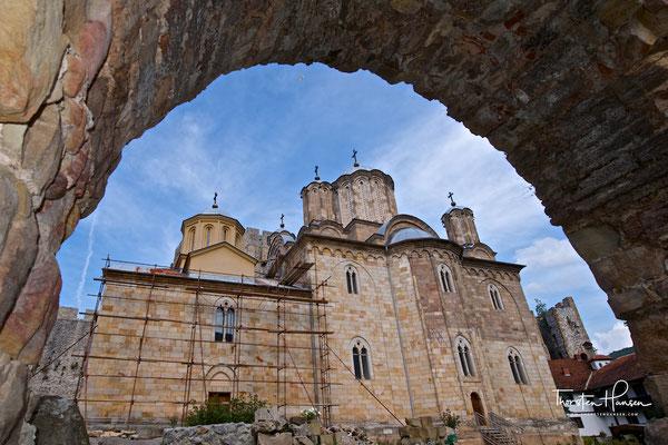 Wehrkloster Manasija in Serbien