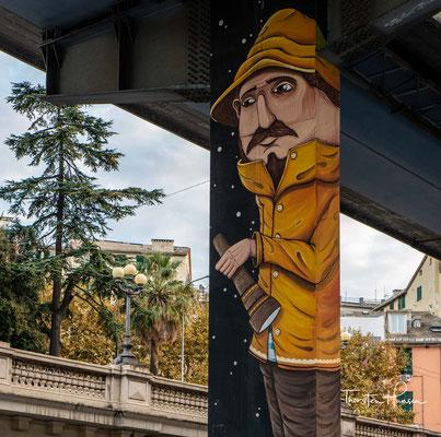 Genua wird von einer unattraktiven Brückenstraße durchzogen