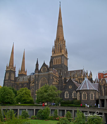 St. Patrick's Cathedral in Melbourne