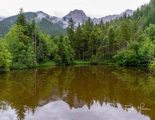 Heute Wandern für über Jungfernsprung und durch das Johannistal zum Karwendelhaus