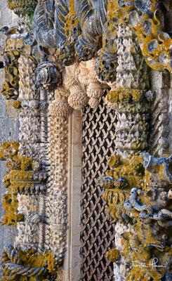 Fenster im manuelinischen Stil