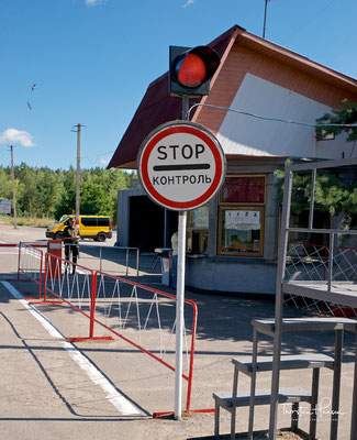 "Checkpoint ""Leliw"" in die 10-km-Zone"