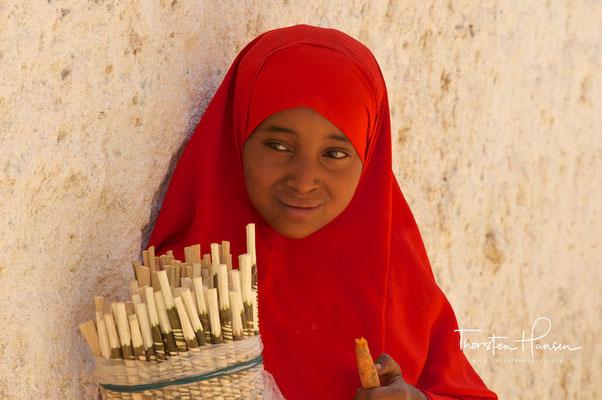 Harari Mädchen in Harar