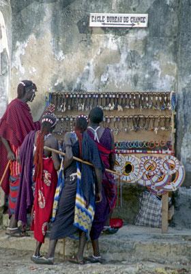 Massai in Stone Town