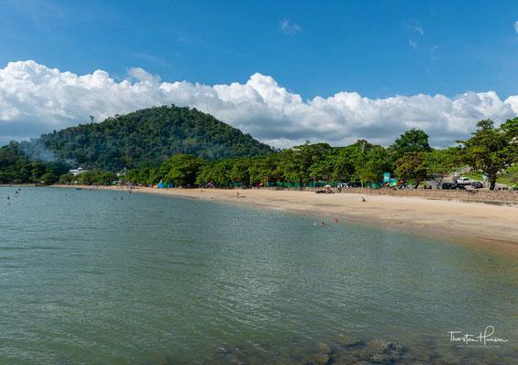Lange Zeit war Kep das wichtigste Seebad des Landes. Viele der Kolonialbauten wurden während der Herrschaft der Roten Khmer zerstört.