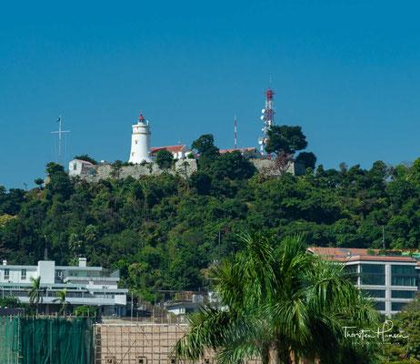 Fortaleza de Guia, hier findet sich ein Leuchtturm und eine Kapelle, in der sich Reste der alten Wandgemälde finden lassen.