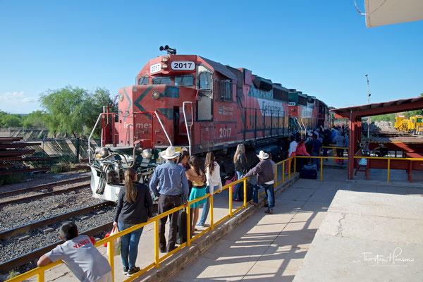 Ferrocarril Chihuahua al Pacífico in El Fuerte