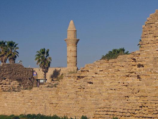 Caesarea Maritima Gebäude aus der osmanischen Epoche