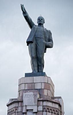 Lenin Statue in Kostroma