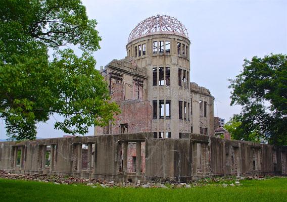 Das Friedensdenkmal in Hiroshima