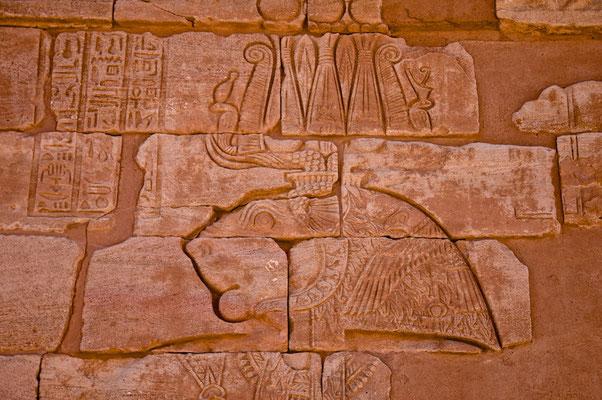 Löwentempel in Musawwarat es Sufra Tempel