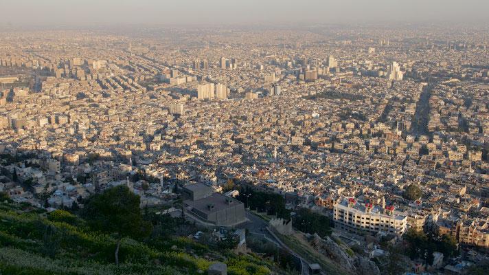 Blick über Damaskus