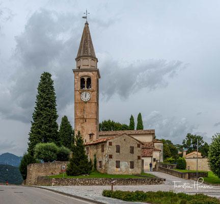 Pieve di San Pietro ist das wichtigste Sakralgebäude von San Pietro di Feletto.