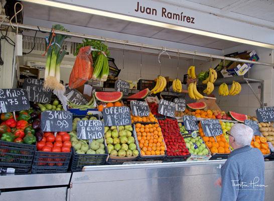 Früchte auf dem Markt in Cadiz