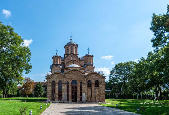 Die Kirche steht auf dem Platz einer im 13. Jahrhundert der heiligen Jungfrau geweihten Kirche, die wiederum auf den Fundamenten einer aus dem 6. Jahrhundert stammenden Basilika errichtet war.