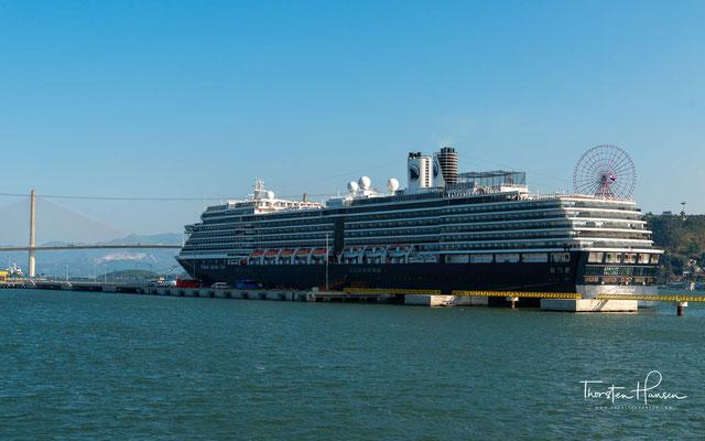 85 Prozent der Kabinen an Bord der Westerdam verfügen über Meerblick, 67 Prozent haben einen eigenen Balkon.