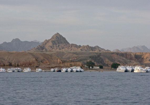 Ankunft in Sharm el-Sheikh