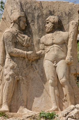 Mithridates und Herakles in Arsameia am Nymphaios