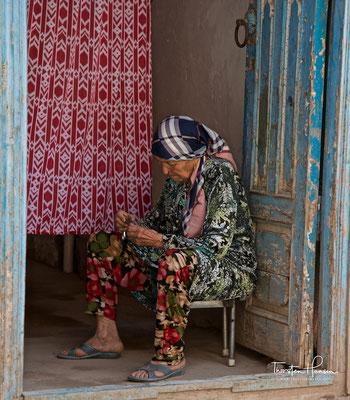 Ruhepause in Kashgar