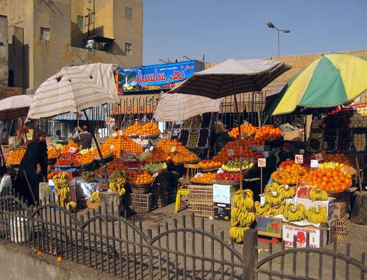 Marktstand in Kairo