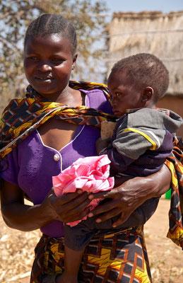 Familie in Tanzania
