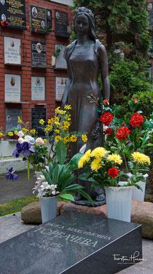 Grab von Raissa Maximowna Gorbatschowa auf dem Nowodewitschi-Friedhof