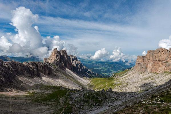 Auf diesem Streckenabschnitt erlebt man eine der spektakulärsten und abwechslungsreichsten Landschaften Südtirols.