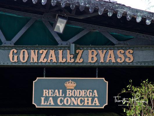 Bodega González Byass in Jerez de la Frontera