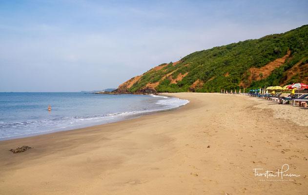 Das belebte Arambol, ein Zentrum für Yoga, Meditation und alternative Therapien, ist für seinen gleichnamigen Strand bekannt, der bei Backpackern und Alternativreisenden beliebt ist.