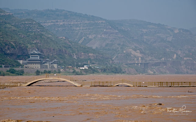 Hukou-Wasserfall des Huang He