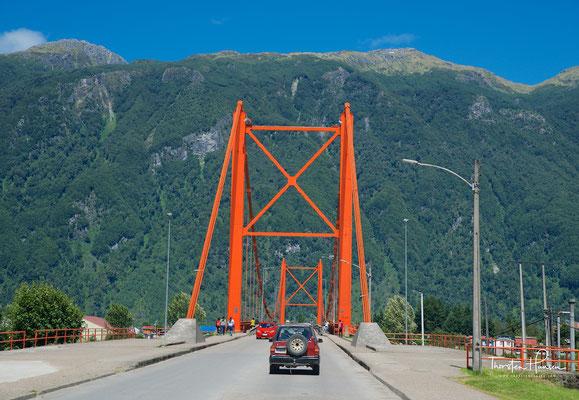 Puente Presidente Ibáñez über den Río Aysén