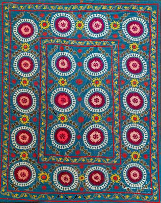 Usbekische Teppichkunst