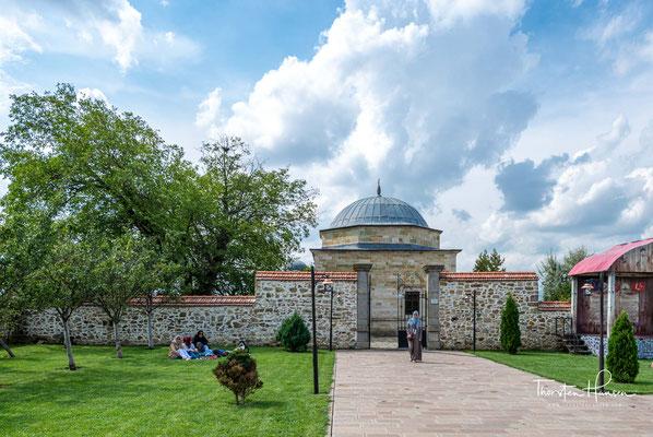 Das Grabmal des Sultans Murad I. Meşhed-i Hüdavendigar - Ort, an dem der Herrscher Murad I. als Märtyrer fiel