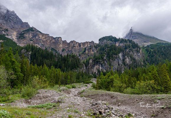 Sowohl der Tiroler als auch der bayerische Teil des Karwendels stehen unter Naturschutz.