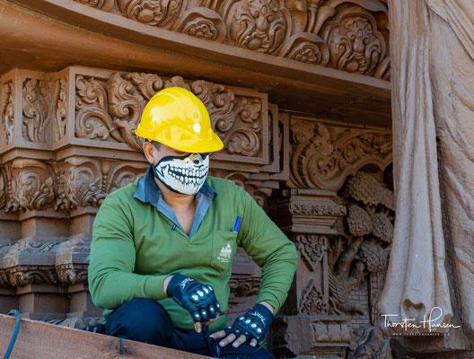 Die Arbeiten werden in traditioneller Handwerkskunst hergestellt