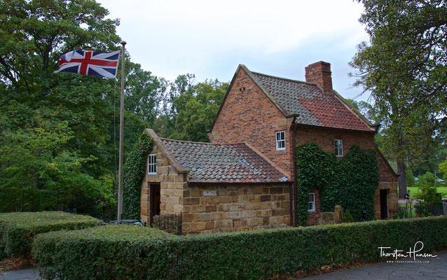 Elternhaus von James Cook in Melbourne