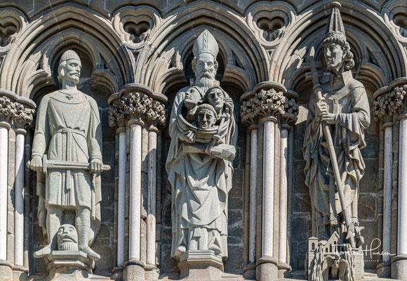 Krönungen finden hier nicht mehr statt. Der Nidarosdom ist auch seit der Reformation weiterhin Bischofskirche des Bistums Nidaros.