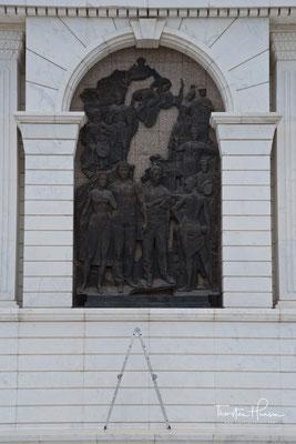 Das Denkmal Eli kasachischen Astana-Stadt