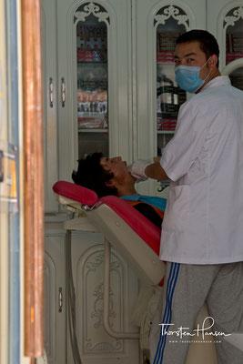 Zahnarzt in Kashgar