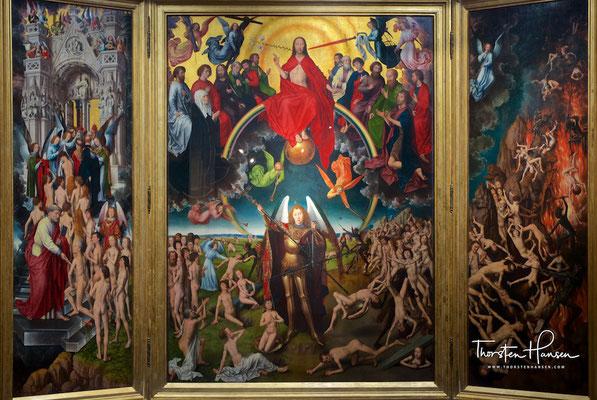 Das Jüngste Gericht, auch Triptychon des Weltgerichts, ist ein Triptychon von Hans Memling. Entstanden 1467 bis 1471