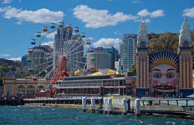 Luna Park in Sydney