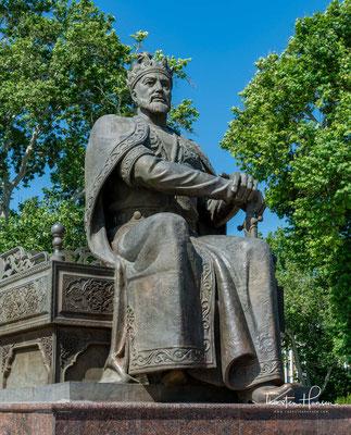 Timur Statue in Samarkand