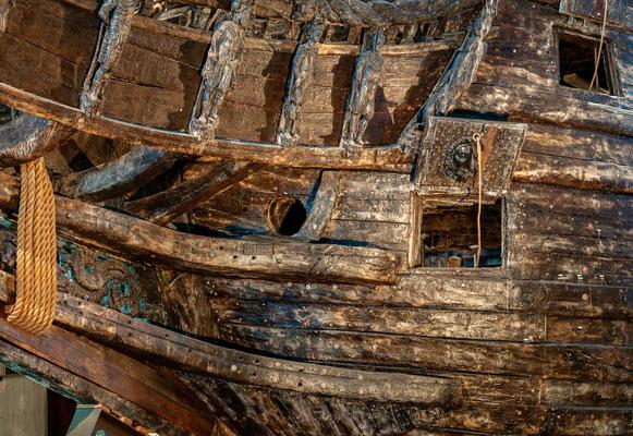 Nach ihrer Auffindung 1956 und Bergung 1961 wurde sie mehrfach restauriert und ist heute im Vasa-Museum in Stockholm zu besichtigen. Das Schiff trägt den Namen der schwedischen Königsdynastie Wasa (schwedisch vasa).