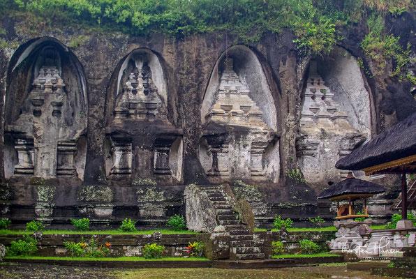 Die Königsgräber von Gunung Kawi zählen zu den bedeutendsten und beeindruckendsten Sehenswürdigkeiten auf Bali