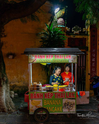 Kleiner Marktstand in Hoi An