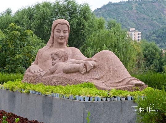"""""""Mutter des Gelben Flusses"""" - Ein Wahrzeichen der Stadt Lanzhou"""
