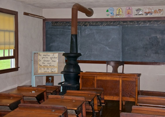 Schule im Amish Village in Ronks