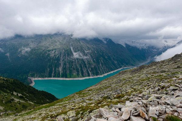 zur Olperer Hütte (2.388 m) und zum Furtschaglhaus (2.293 m) sowie für die Querung des Pfitscher Jochs (2.246 m) nach Südtirol.